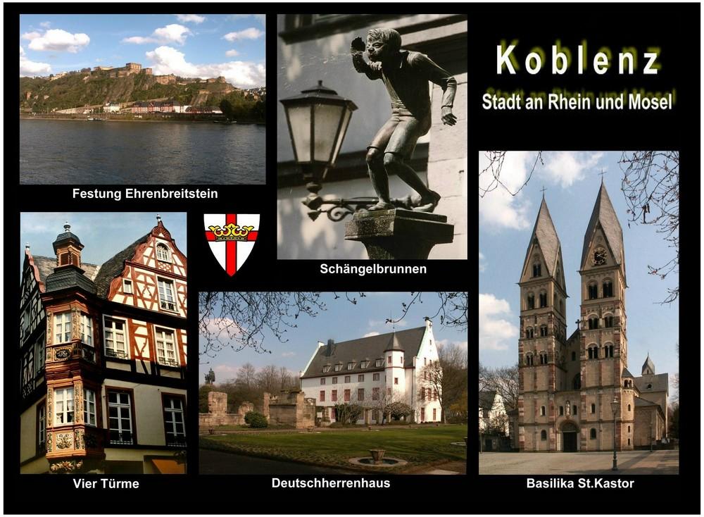 Ansichtskarte Koblenz