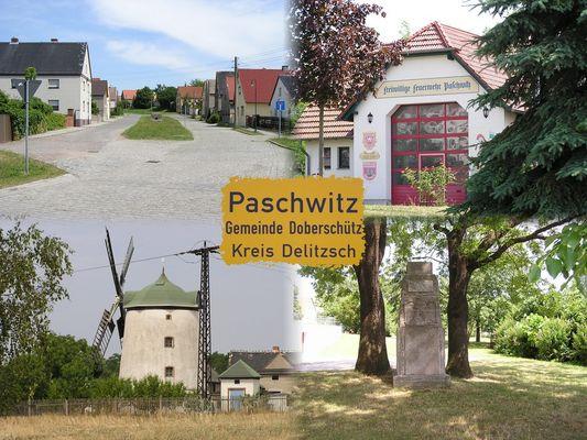 Ansichtskarte Paschwitz
