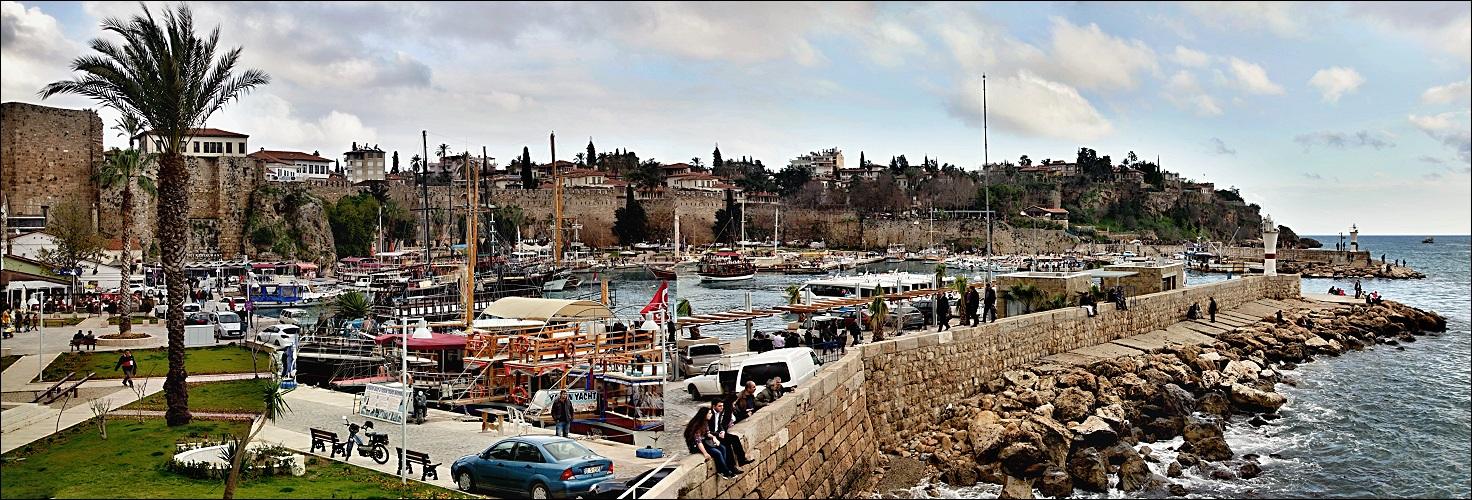 Antalya - historischer Hafen