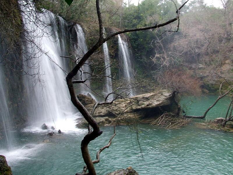 Antalya Kursunlu waterfall