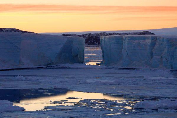 Antarctique, Icebergs en mer de Weddell