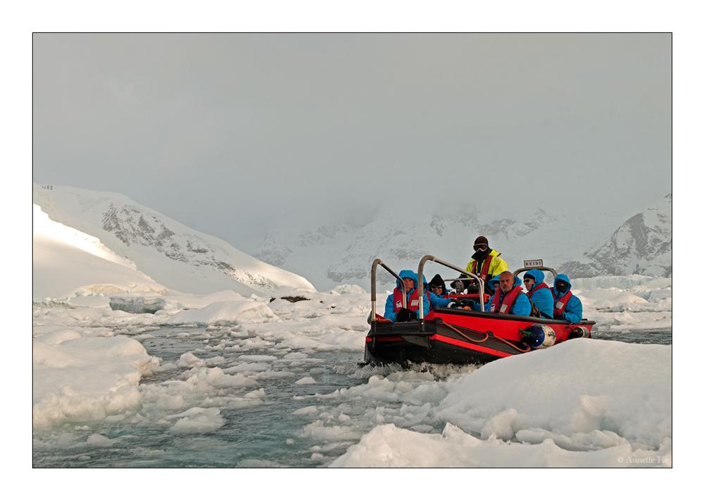 Antarktika [54] - Der Weg durchs Eis