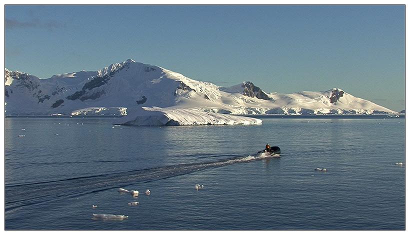 Antarktis 10: Ausfahrt