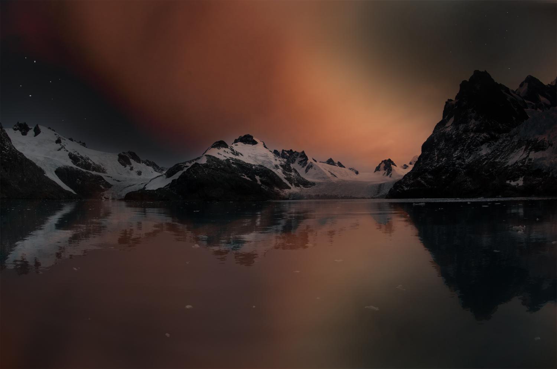 Antarktische Nacht
