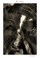Antelope Canyon Belichtungsreihe mal in SW