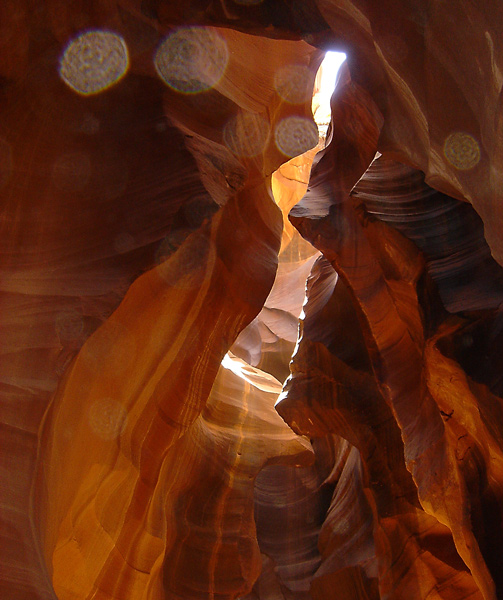 Antelope Canyon - Dust and Stone
