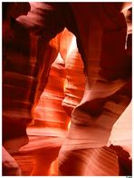 Antelope Canyon im Gebiet der Navajo-Indianer in Arizona II