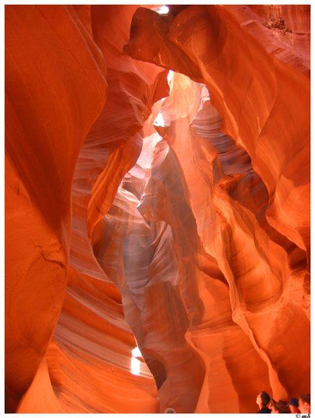 Antelope Canyon im Gebiet der Navajo-Indianer in Arizona III