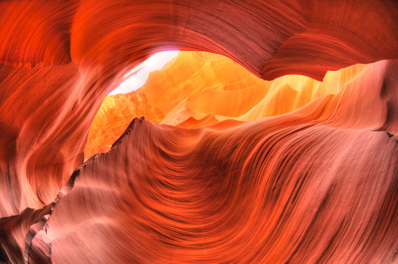 Antelope Canyon on Fire