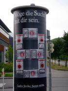 Anti-Raucher-Plakat