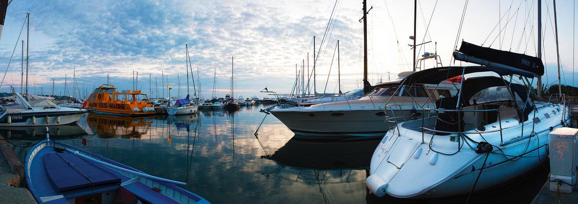Antibes Port de la Gallice Panoramique