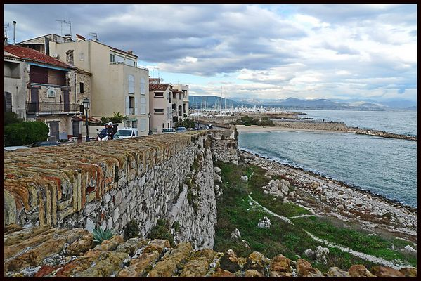 Antibes, remparts