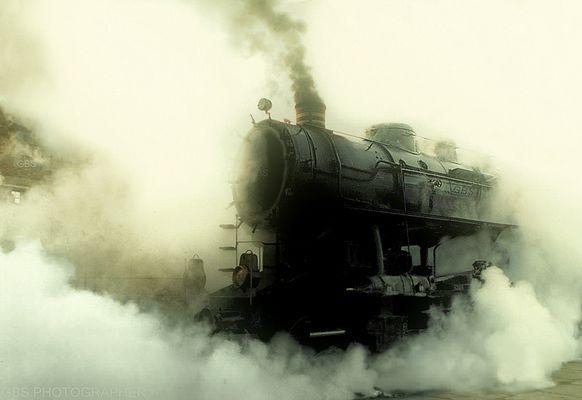antica locomotiva