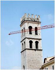 Antico versus moderno a Assisi
