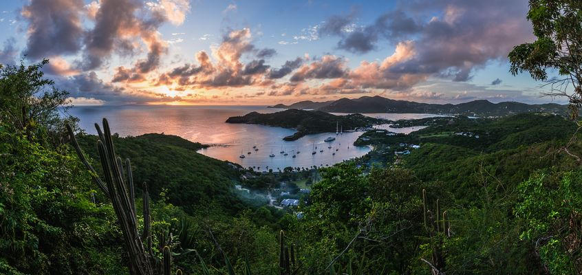 Antigua - English Harbour Panorama