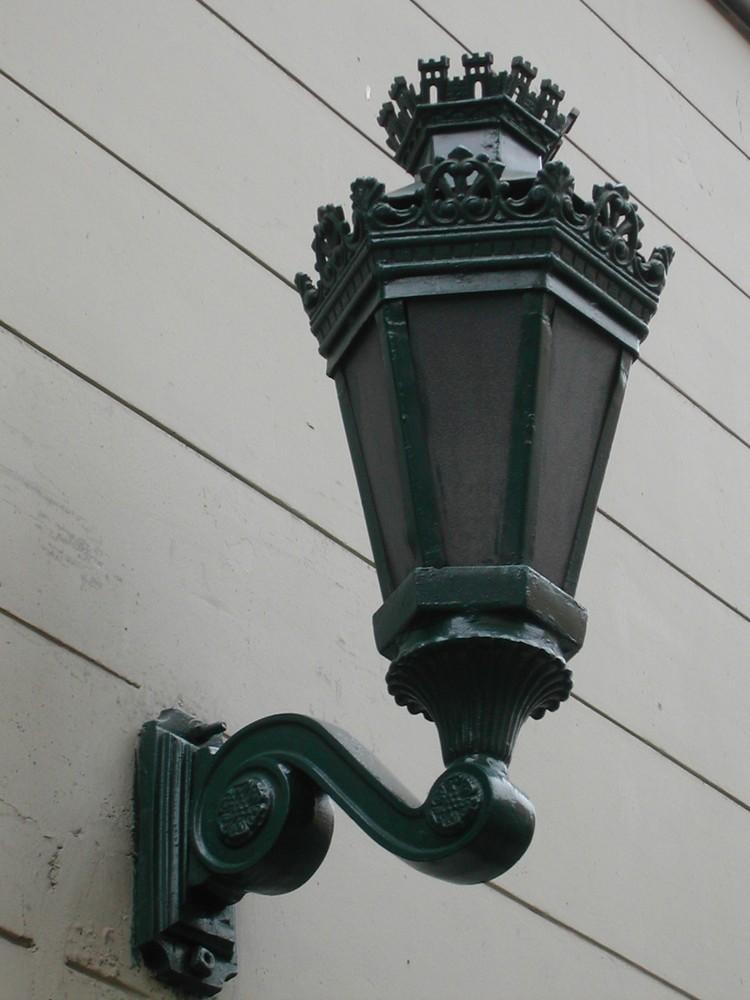 antigua farola de la calle
