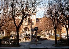 Antiguo Hospital de la Santa Cruz y San Pablo. Barcelona