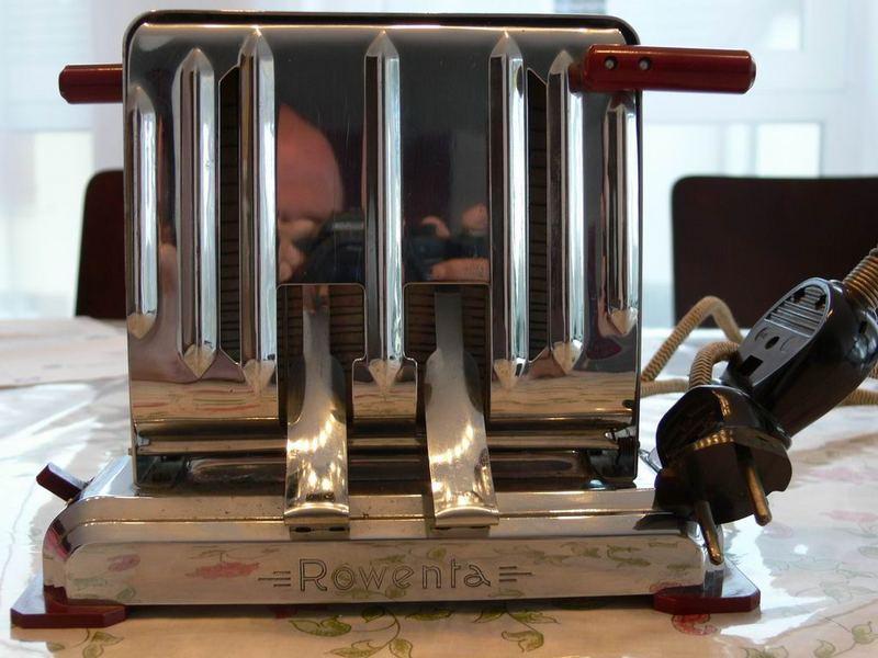 Antiker Toaster Rowenta 1960 Neu
