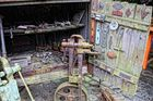 Antiker Werkzeugschrank