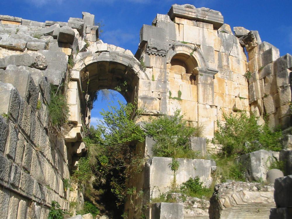 antikes Theater bei Myra