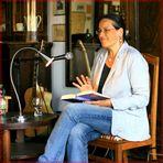 "Antje Babendererde liest aus ihrem Buch ""Lakota Moon"""