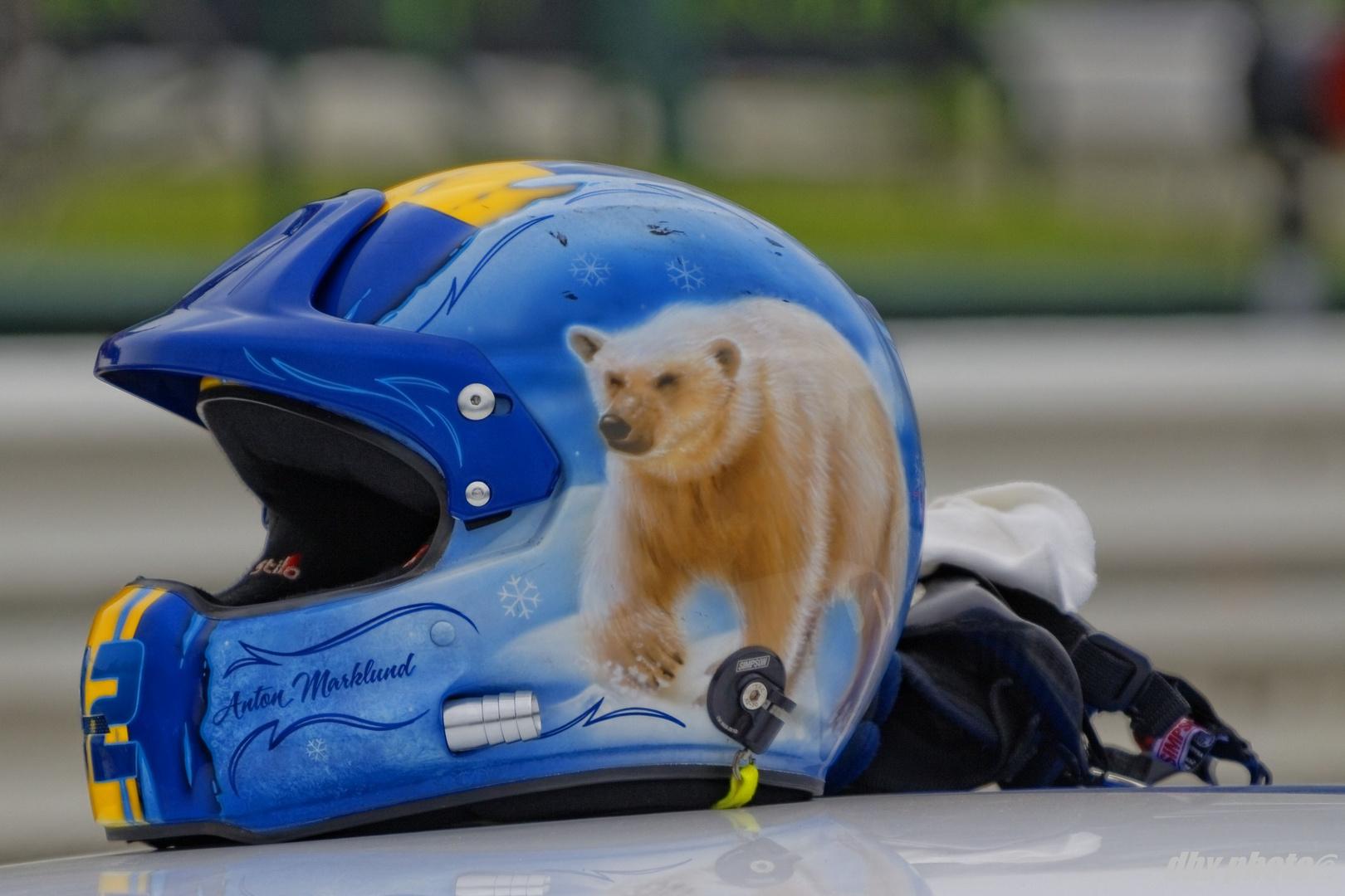 Anton Marklund helmet
