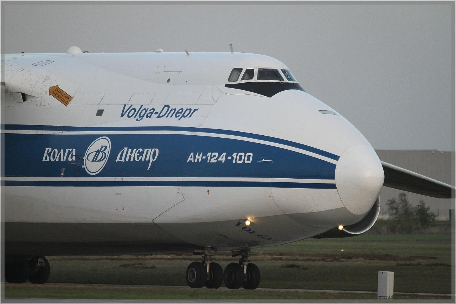 Antonov 124-100 in Hannover