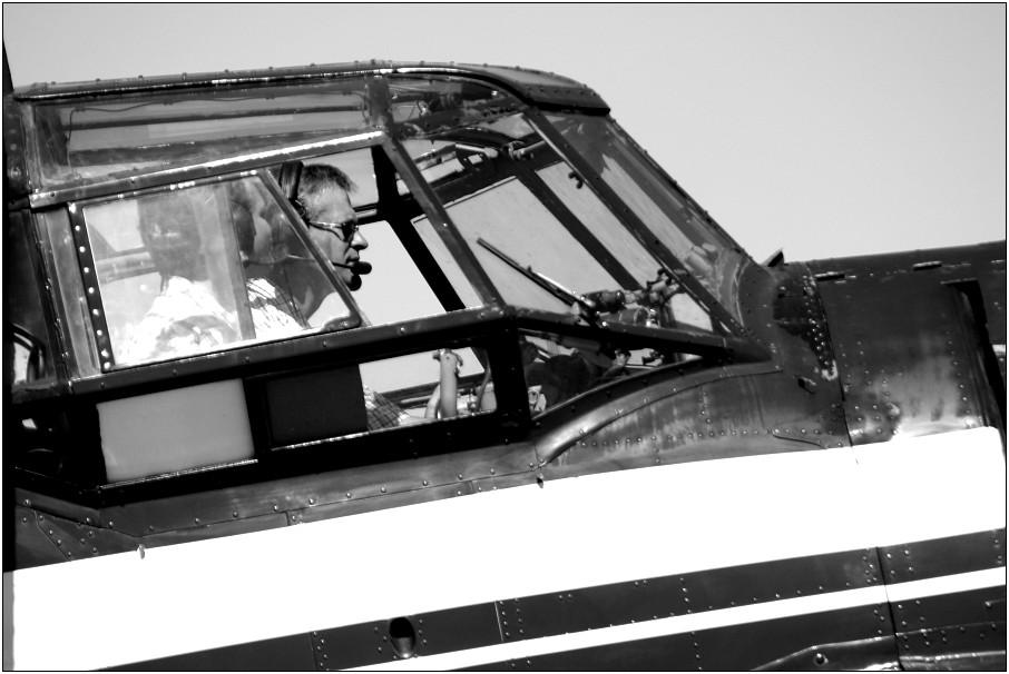Antonov-2 Cockpit