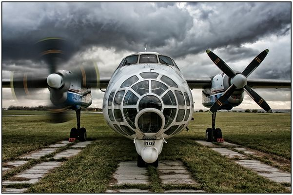 Antonov An-30FG (HDR)