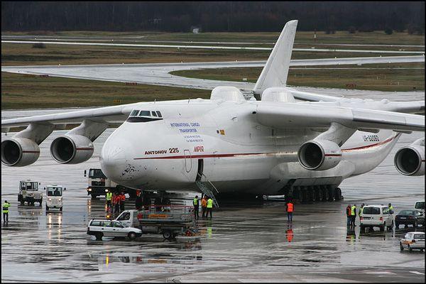 Antonov N-225 vor dem Start