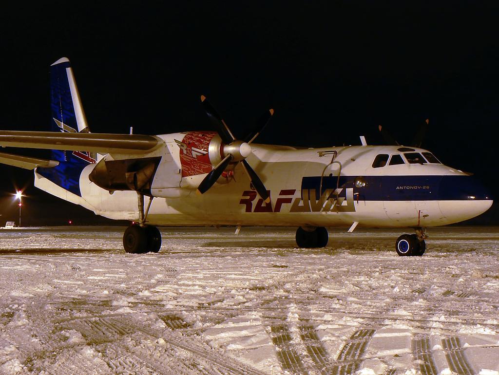 Antonow An26 RAF Avia YL-RAE
