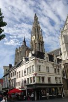 Antwerp downtown