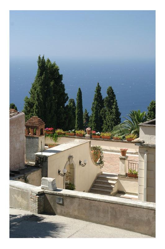 Anwesen beim Theatro Greco in Taormina
