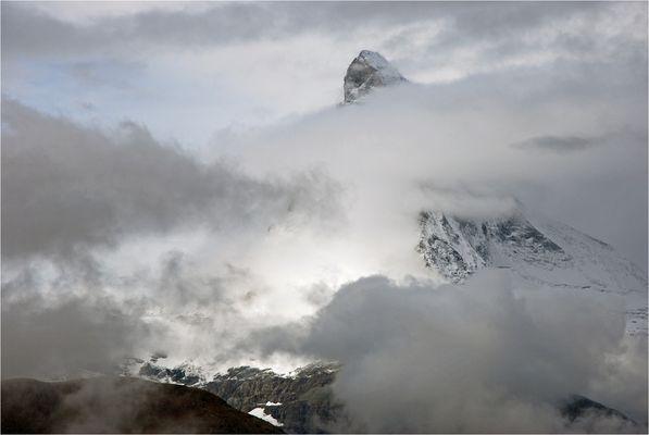 Anziehend ist das Matterhorn auch