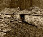 Año-1.962. Arquitectura rural gallega.