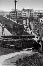 Año 1.964- La muralla romana de Lugo