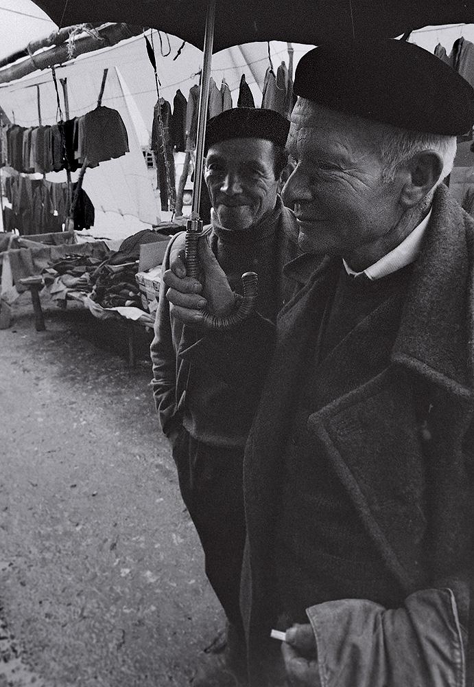 Año 1.965.Mercado en la feria-
