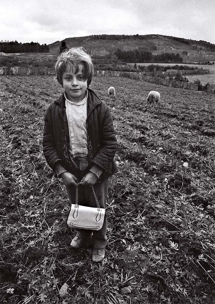 Año 1.970-La niña del bolso