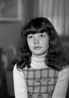 Año 1.974-Retrato de niña