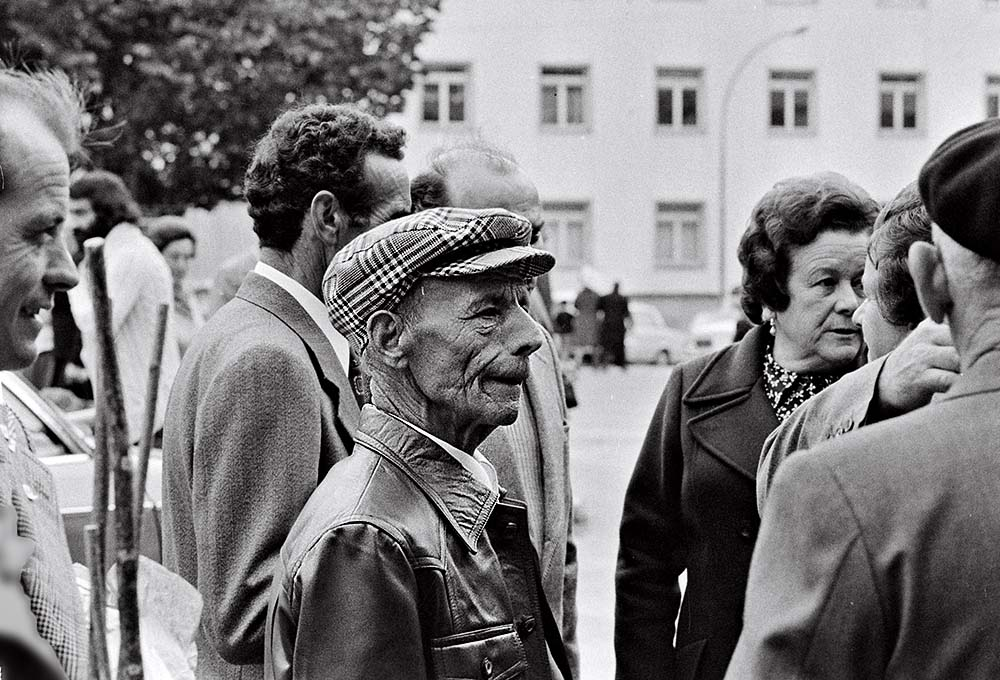 Año 1.974.Gentes del San Froilán, fiestas patronales de Lugo