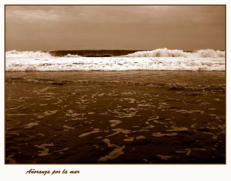 Añoranza por la mar