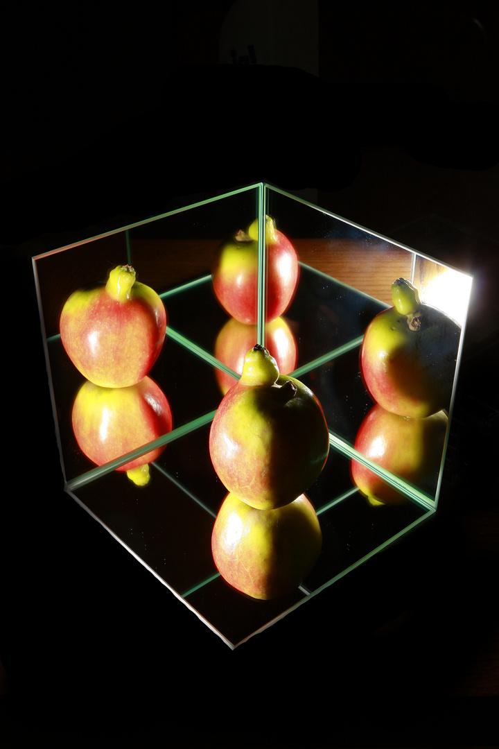 Apfel + 5% Extra . . .mal 4