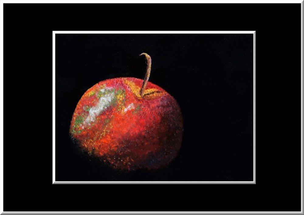 Apfel in ÖL....