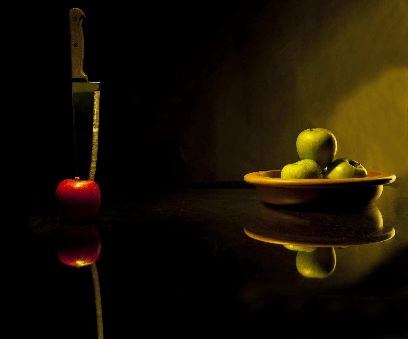 Apfel Mord und Diskriminierung