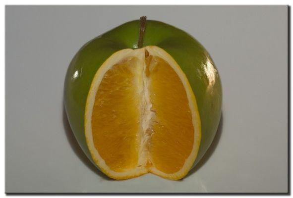Apfel oder Orange?