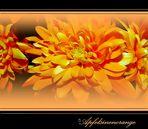 *Apfelsinenorange*