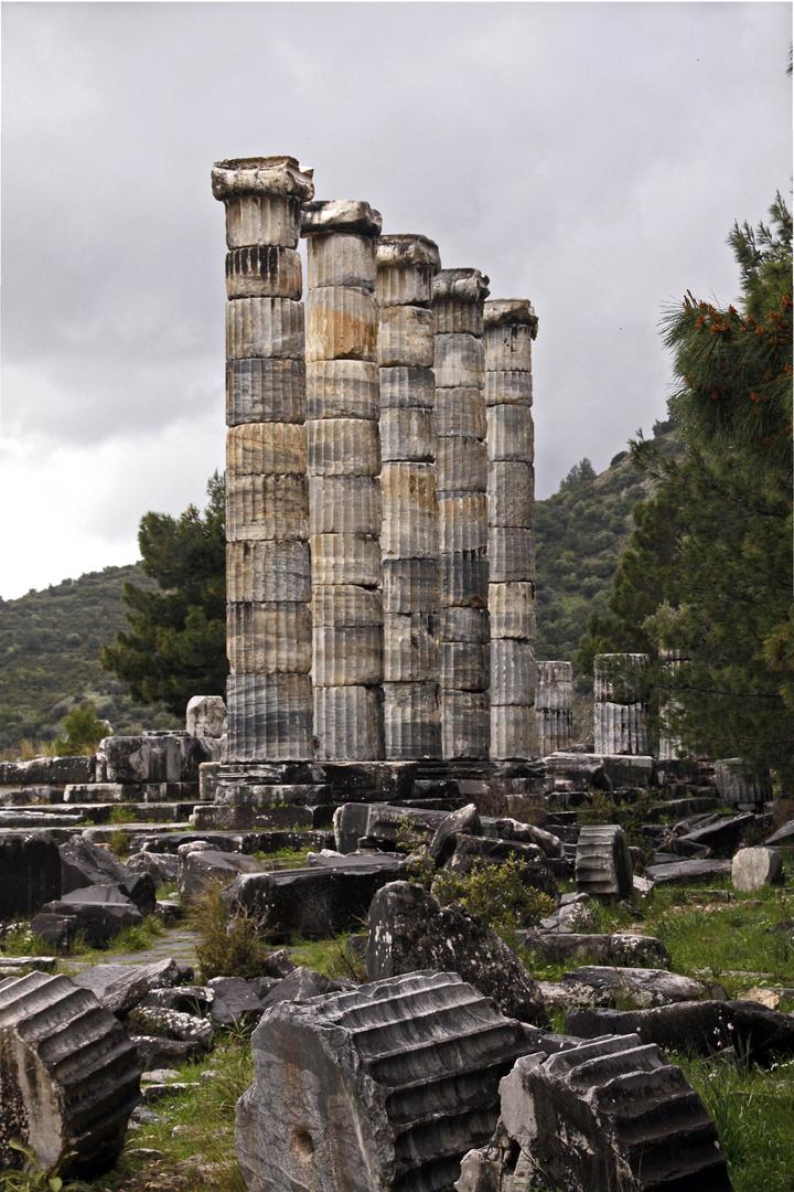 Apollo-Tempel in Priene/Ägäis