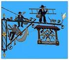 Appenzell - ist zierlich und schmückt sich mit zahlreichen wunderschönen Schildern!