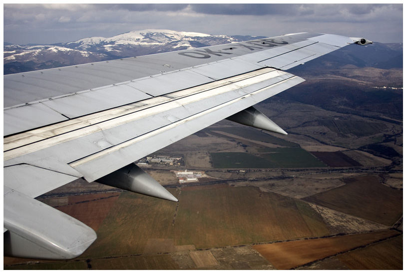 Approach to land