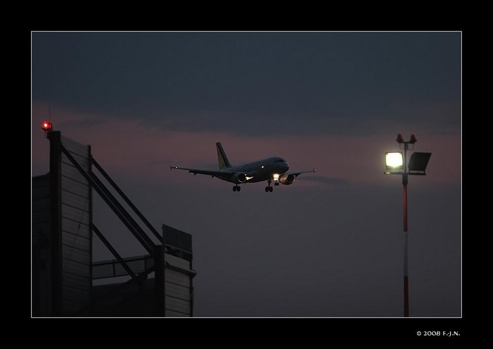 Approaching Dortmund - Airport.